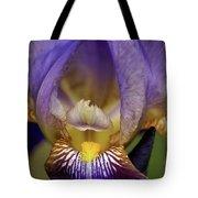 World Inside Of Iris Tote Bag