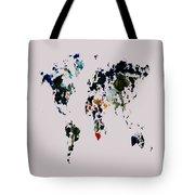World Map 14b Tote Bag
