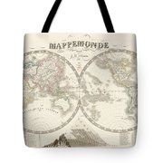 World Map - 1842 Tote Bag