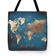 World Map 2065 Tote Bag