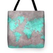 World Map 39 Tote Bag