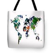 World Map 8b Tote Bag