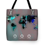 World Map Collection Tote Bag
