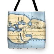 World Map: Eratosthenes Tote Bag