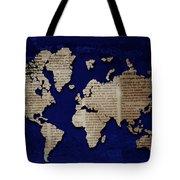 World News Tote Bag