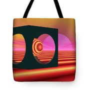 World Of The Dragonfly Tote Bag