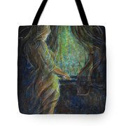World Outside My Window Tote Bag
