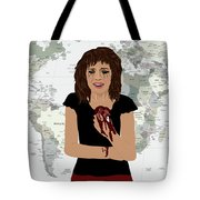 World Pain Tote Bag