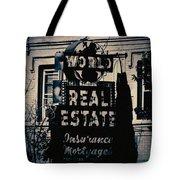 World Real Estate Chicago Tote Bag