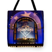 World Series Champs Tote Bag