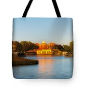World Showcase Lagoon Before The Show Walt Disney World Tote Bag