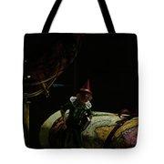 World Traveler Pinocchio Tote Bag