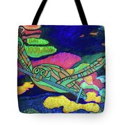 World Turle Knight Of Swords Tote Bag