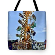 World Upside Down Tote Bag