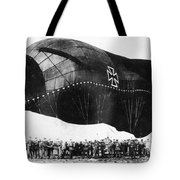 World War I: Airship Tote Bag