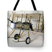 World War I: British Plane Tote Bag