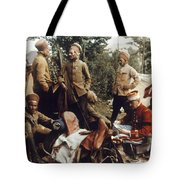 World War I: French Troops Tote Bag