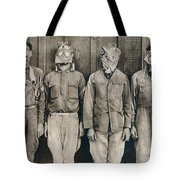 World War I: Gas Warfare Tote Bag