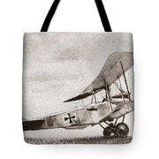 World War I: German Biplane Tote Bag