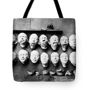 World War I Masks, 1918 - To License For Professional Use Visit Granger.com Tote Bag