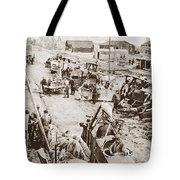 World War I: Plane Repair Tote Bag