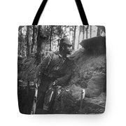 World War I: Soldier Tote Bag