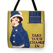 World War I: Thrift Stamps Tote Bag