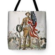 World War I: U.s. Army Tote Bag
