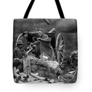 World War I: U.s. Artillery Tote Bag