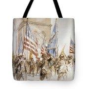 World War I: Victory Parade Tote Bag