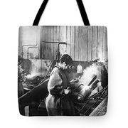 World War I: Women Workers Tote Bag
