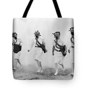 World War II: Nurses Tote Bag