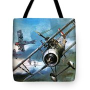 World War One Dogfight Tote Bag