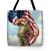 World War One Soldier Tote Bag