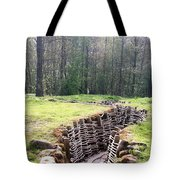 World War One Trenches Tote Bag