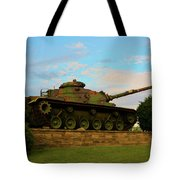 World War Two Tank Tote Bag