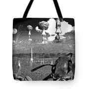 Book Illustation - World War Zero Tote Bag