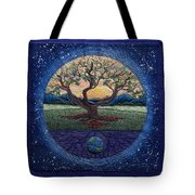 World Within Worlds Tote Bag