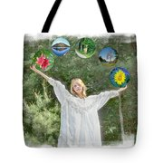 World's Apart Tote Bag