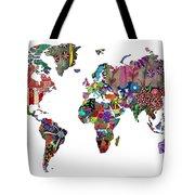 Worldwide Tote Bag