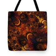Worm Infestation Tote Bag