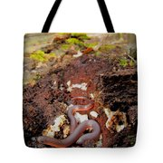 Worm Snake Tote Bag