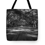 Wormsloe Plantation 2 Live Oak Avenue Art Tote Bag