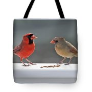 Worms For Breakfast Tote Bag