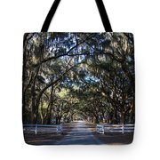 Wormsloe Avenue #2 Tote Bag