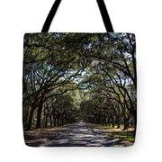 Wormsloe Avenue Tote Bag