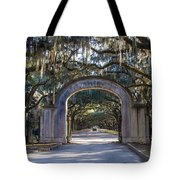 Wormsloe Gates Tote Bag