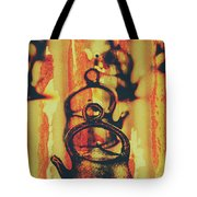 Worn And Weathered Kettles Tote Bag