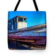 Worn Weathered Boat Tote Bag