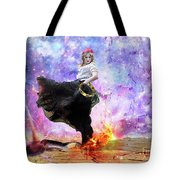 Worship Warrior Tote Bag